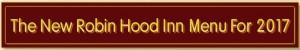 The New Robin Hood menu 2017 B